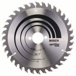 DISCO BOSCH STANDARD MADERA 190X30 36D