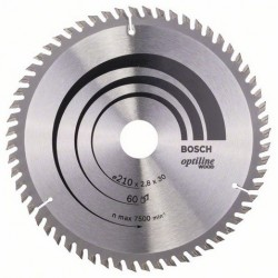DISCO BOSCH STANDARD MADERA 210X30 60D