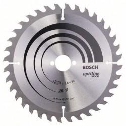 DISCO BOSCH STANDARD MADERA 230X30 36D