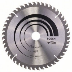 DISCO BOSCH STANDARD MADERA 235X30 48D