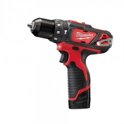 TALADRO PERCUTOR MILWAUKEE M12 BPD 2,0AH(2BAT)