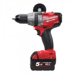 TALADRO PERCUTOR MILWAUKEE M18 FUEL 5AH(2BAT)