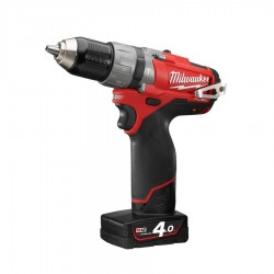 TALADRO PERCUTOR MILWAUKEE M12 FUEL 4AH(2BAT)