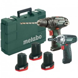 KIT METABO 10,8V: POWERMAXX SB BASIC + SSD