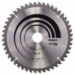DISCO BOSCH STANDARD MADERA 210X30 48D
