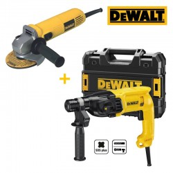 KIT MARTILLO Y AMOLADORA DEWALT