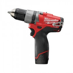 TALADRO ATORNILLADOR MILWAUKEE M12 FUEL 2,0AH(2BAT)