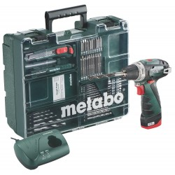 TALADRO METABO POWERMAXX BS BASIC WORKSHOP 2.0AH