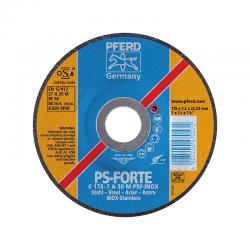 DISCO DESBASTE INOX PFERD PS-FORTE