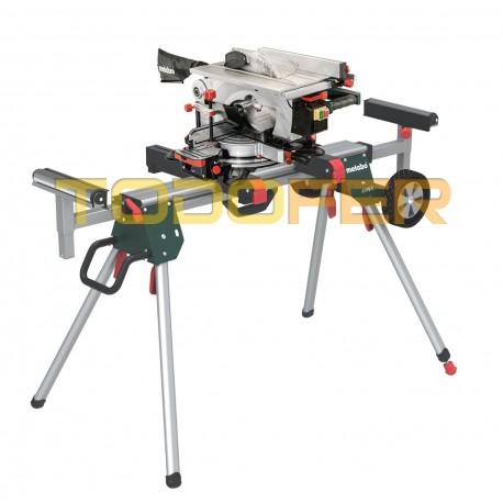 Ingletadora con mesa superior metabo kgt 305 m for Ingletadora con mesa superior