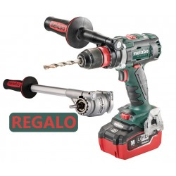 TALADRO METABO BS 18 LTX BL Q I 5,5AH(2BAT) + POWER X3