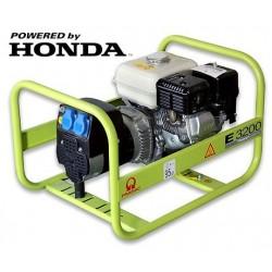 GENERADOR GASOLINA PRAMAC E3200 MOTOR HONDA