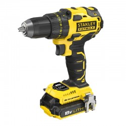 TALADRO ATORNILLADOR STANLEY FATMAX BRUSHLESS 18V/2AH