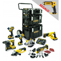 MONSTER PACK DEWALT 18V BRUSHLESS 8PZ + 4BAT