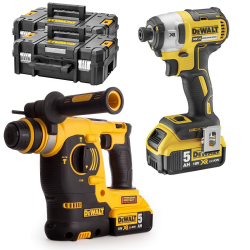 PACK DEWALT MARTILLO SDS PLUS + IMPACTO