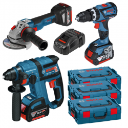 SUPER PACK BRUSHLESS BOSCH 18V 5AH