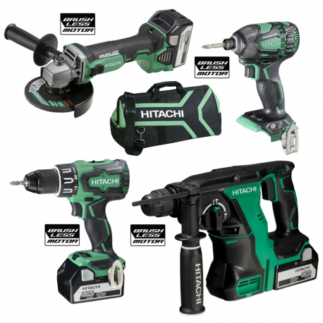 MONSTER PACK BRUSHLESS HITACHI 18V 5AH