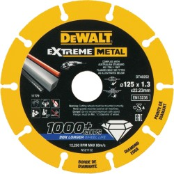 DISCO DIAMANTADO EXTREME DEWALT 125MM