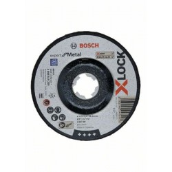 DISCO DE DESBASTE 125MM X-LOCK METAL