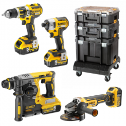 MONSTER PACK DEWALT BRUSHLESS + TOUGH SYSTEM